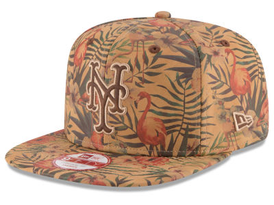 New York Mets MLB Vintage Trop 9FIFTY Snapback Cap Hats