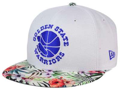 Golden State Warriors NBA HWC White Out Trop 9FIFTY Snapback Cap Hats