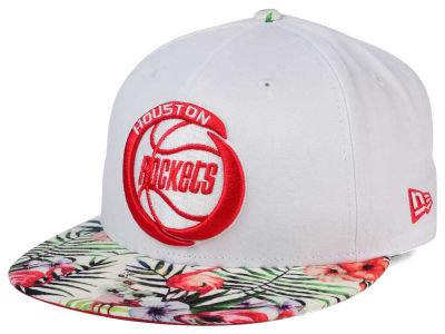 Houston Rockets NBA HWC White Out Trop 9FIFTY Snapback Cap Hats