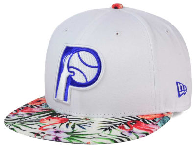 Indiana Pacers NBA HWC White Out Trop 9FIFTY Snapback Cap Hats
