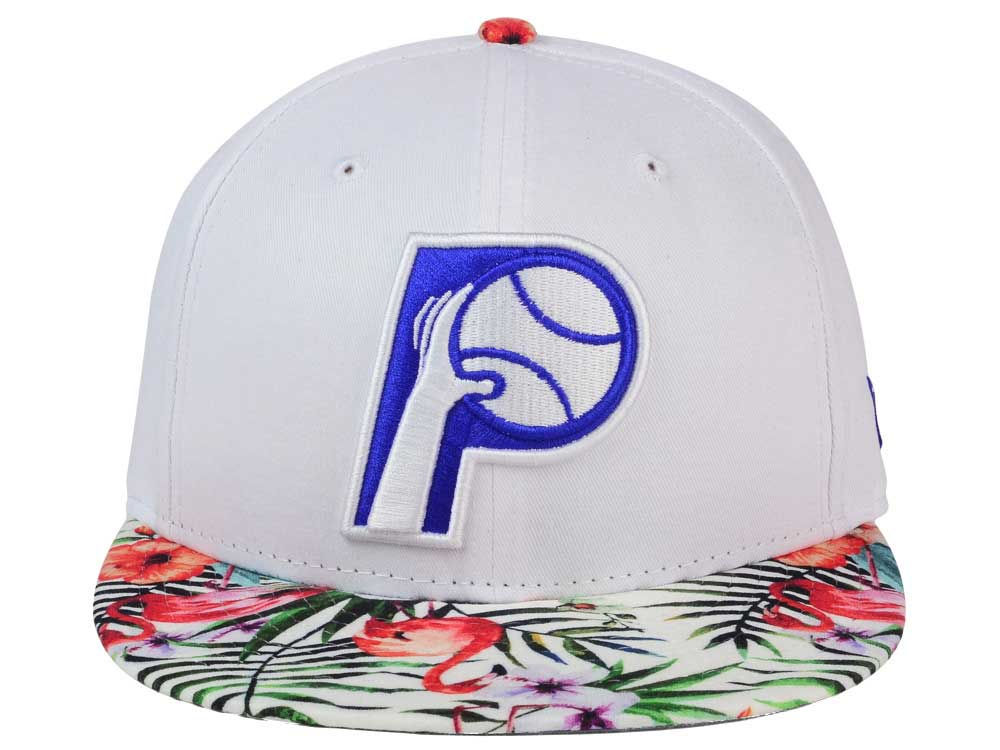 online retailer 56767 239e9 lovely Indiana Pacers New Era NBA HWC White Out Trop 9FIFTY Snapback Cap