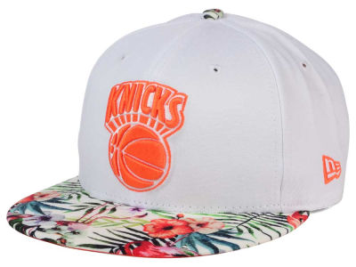 New York Knicks NBA HWC White Out Trop 9FIFTY Snapback Cap Hats