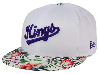 Sacramento Kings NBA HWC White Out Trop 9FIFTY Snapback Cap Hats
