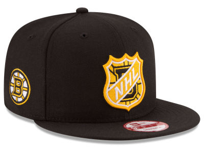 Boston Bruins NHL Team Shield 9FIFTY Snapback Cap Hats