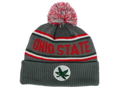 J America NCAA Pocket Cuff Pom Knit Hats
