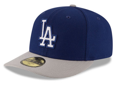 Los Angeles Dodgers MLB Low Profile Diamond Era 59FIFTY Cap Hats