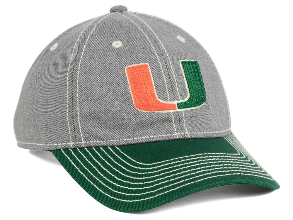 bdedb7089aaa2 new Miami Hurricanes adidas NCAA Shadow Slouch Adjustable Cap ...