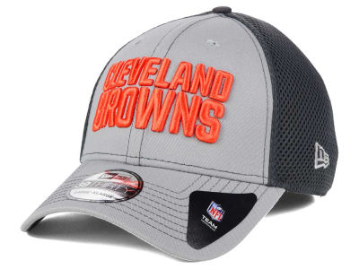 Cleveland Browns NFL Grayed Out Neo 39THIRTY Cap Hats