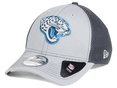 Jacksonville Jaguars NFL Grayed Out Neo 39THIRTY Cap Hats