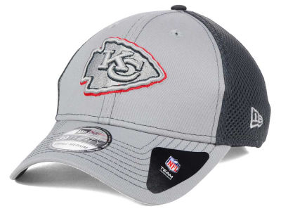 Kansas City Chiefs NFL Grayed Out Neo 39THIRTY Cap Hats