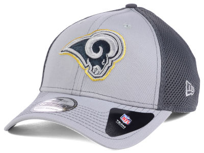 Los Angeles Rams NFL Grayed Out Neo 39THIRTY Cap Hats