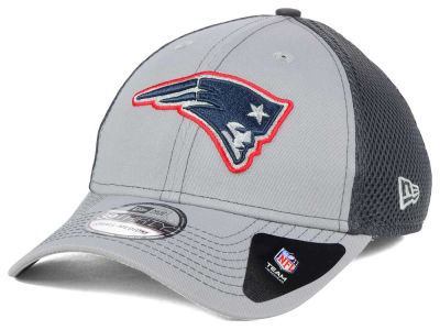 New England Patriots NFL Grayed Out Neo 39THIRTY Cap Hats