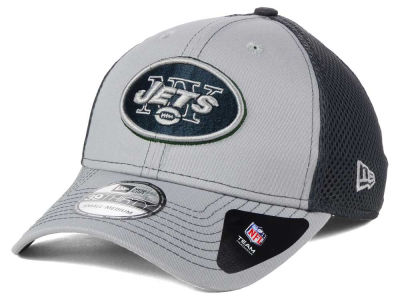 New York Jets NFL Grayed Out Neo 39THIRTY Cap Hats