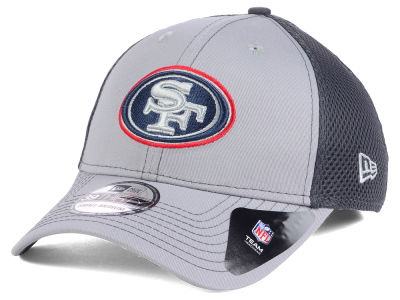 San Francisco 49ers NFL Grayed Out Neo 39THIRTY Cap Hats