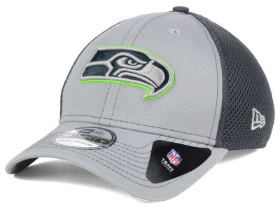 Seattle Seahawks NFL Grayed Out Neo 39THIRTY Cap Hats