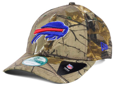 Buffalo Bills NFL The League Realtree 9FORTY Cap Hats