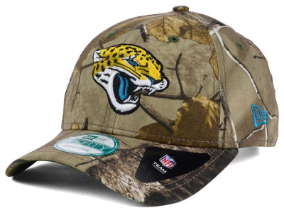 Jacksonville Jaguars NFL The League Realtree 9FORTY Cap Hats