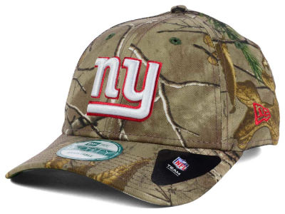 New York Giants NFL The League Realtree 9FORTY Cap Hats