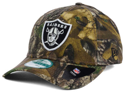 Oakland Raiders NFL The League Realtree 9FORTY Cap Hats