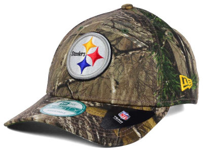 Pittsburgh Steelers NFL The League Realtree 9FORTY Cap Hats