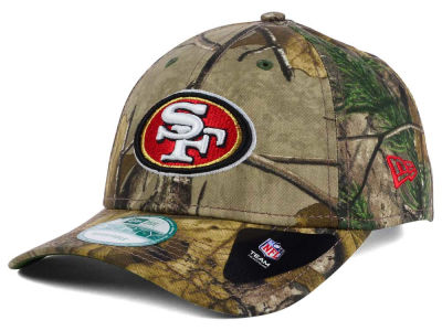 San Francisco 49ers NFL The League Realtree 9FORTY Cap Hats