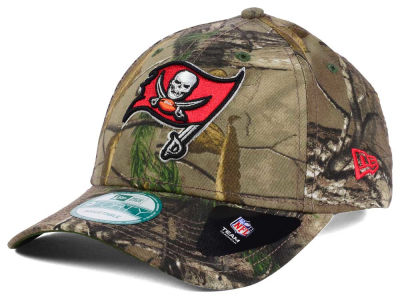 Tampa Bay Buccaneers NFL The League Realtree 9FORTY Cap Hats