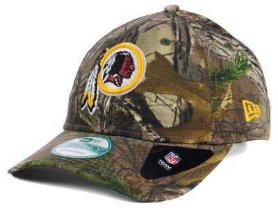 Washington Redskins NFL The League Realtree 9FORTY Cap Hats