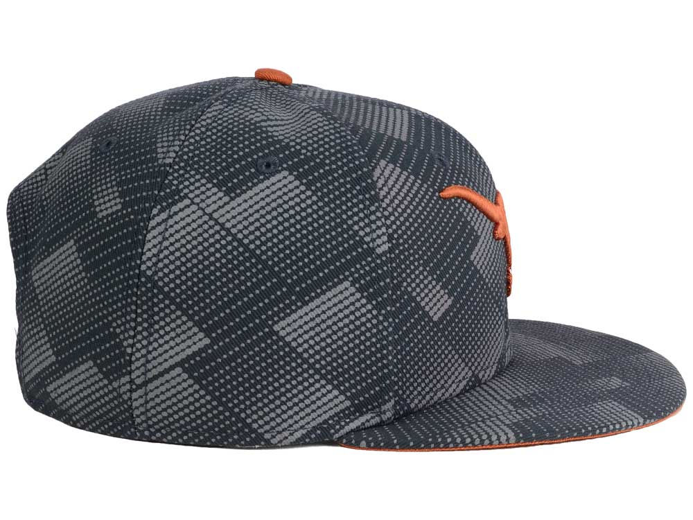 meet 230f8 523fa 70%OFF Texas Longhorns Nike NCAA Anthracite Snapback Cap