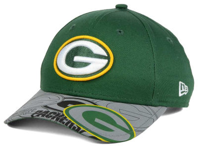 Green Bay Packers NFL Youth Reflect Fuse Snapback Cap Hats