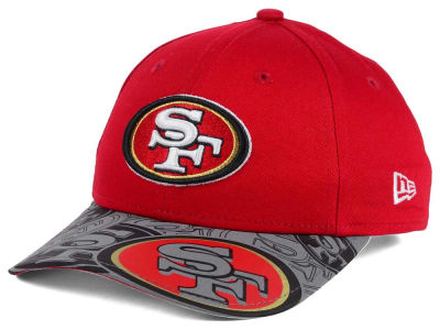San Francisco 49ers NFL Youth Reflect Fuse Snapback Cap Hats
