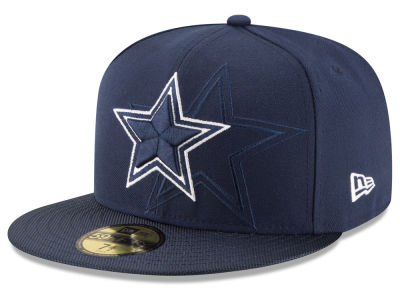 Dallas Cowboys 2016 Official NFL Sideline 59FIFTY Cap Hats