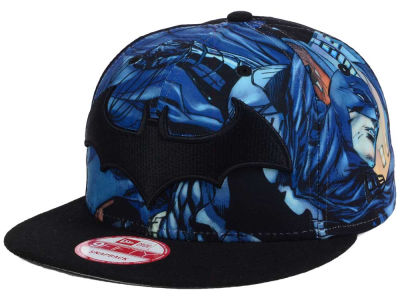 DC Comics Logo Fronted 9FIFTY Snapback Cap Hats