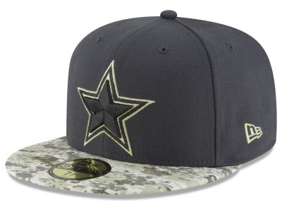Dallas Cowboys NFL Salute to Service Official 59FIFTY Cap Hats