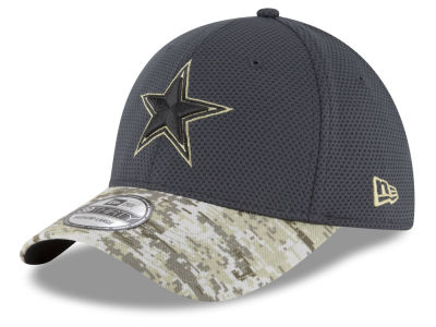 Dallas Cowboys NFL Salute to Service Official 39THIRTY Cap Hats