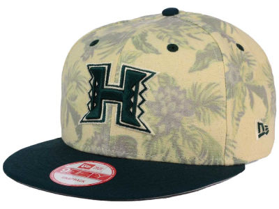 Hawaii Warriors NCAA Faded Trop 9FIFTY Snapback Cap Hats