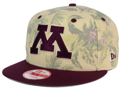 Minnesota Golden Gophers NCAA Faded Trop 9FIFTY Snapback Cap Hats
