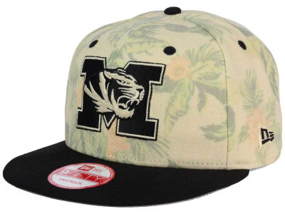 Missouri Tigers NCAA Faded Trop 9FIFTY Snapback Cap Hats