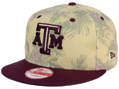 Texas A&M Aggies NCAA Faded Trop 9FIFTY Snapback Cap Hats