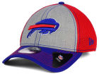 Buffalo Bills New Era NFL Heathered Neo 39THIRTY Cap Stretch Fitted Hats