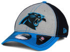 Carolina Panthers New Era NFL Heathered Neo 39THIRTY Cap Stretch Fitted Hats