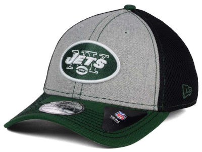 New York Jets NFL Heathered Neo 39THIRTY Cap Hats