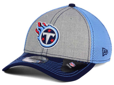 Tennessee Titans NFL Heathered Neo 39THIRTY Cap Hats