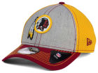 Washington Redskins New Era NFL Heathered Neo 39THIRTY Cap Stretch Fitted Hats