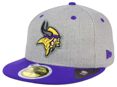Minnesota Vikings NFL Total Reflective 59FIFTY Cap Hats