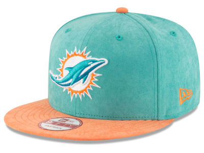 Miami Dolphins NFL Summer Suede 9FIFTY Snapback Cap Hats