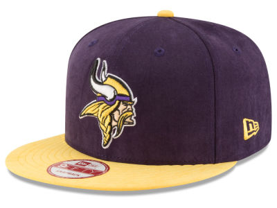 Minnesota Vikings NFL Summer Suede 9FIFTY Snapback Cap Hats