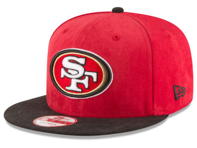 San Francisco 49ers NFL Summer Suede 9FIFTY Snapback Cap Hats