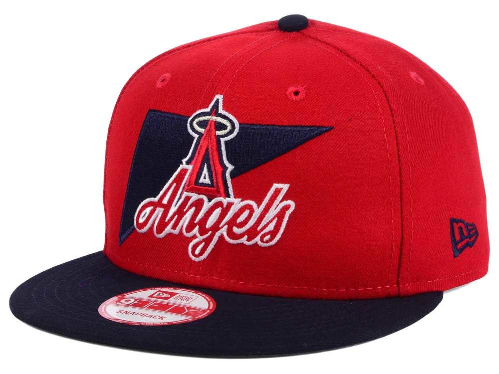 meet 69adc 1be87 best Los Angeles Angels New Era MLB Logo Stacker 9FIFTY Snapback Cap