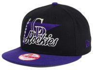 New Era MLB Logo Stacker 9FIFTY Snapback Cap Adjustable Hats