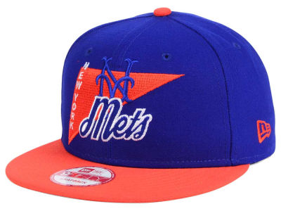 New York Mets MLB Logo Stacker 9FIFTY Snapback Cap Hats